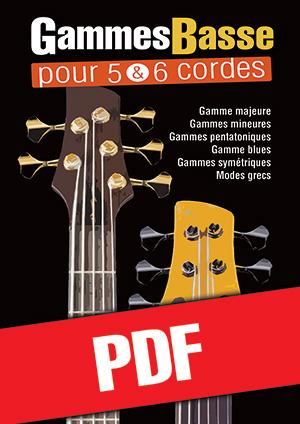 Gammes Basse pour 5 & 6 cordes (pdf)