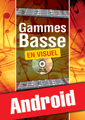 Les gammes de la basse en visuel (Android)