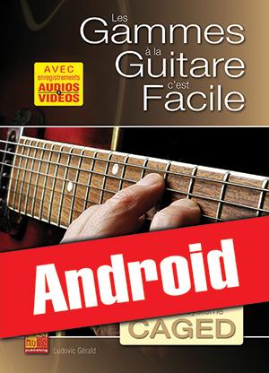 Les gammes à la guitare c'est facile... avec le système CAGED (Android)