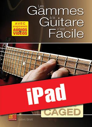 Les gammes à la guitare c'est facile... avec le système CAGED (iPad)