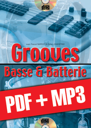 Grooves basse & batterie (pdf + mp3)