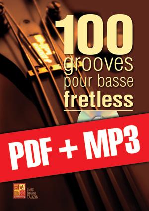 100 grooves pour basse fretless (pdf + mp3)