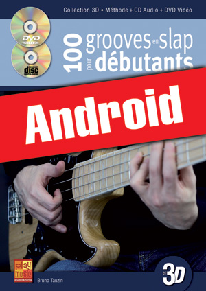 100 grooves en slap pour débutants en 3D (Android)