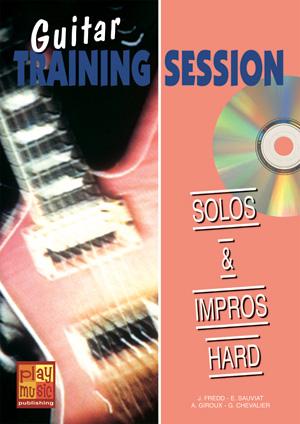 Guitar Training Session - Solos & impros hard
