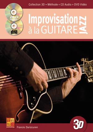 Improvisation jazz à la guitare en 3D