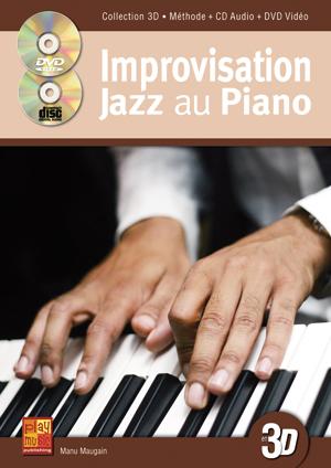 Improvisation jazz au piano en 3D