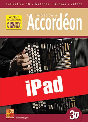 Initiation à l'accordéon en 3D (iPad)