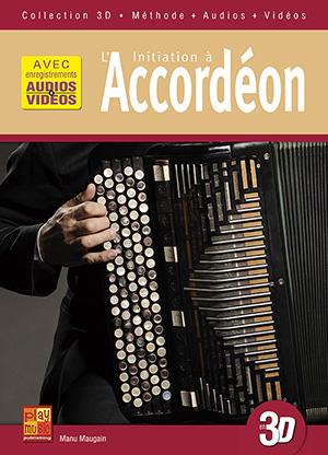 Initiation à l'accordéon en 3D