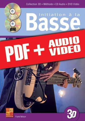 Initiation à la basse en 3D (pdf + mp3 + vidéos)