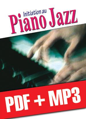 Initiation au piano jazz (pdf + mp3)
