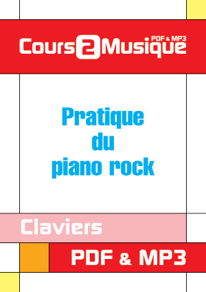 Pratique du piano rock