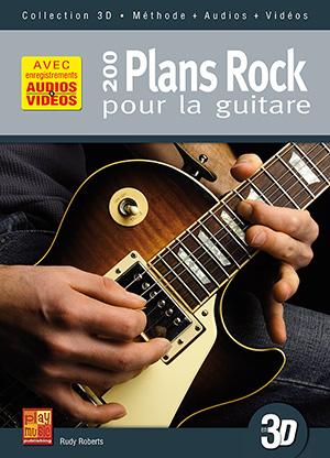 200 plans rock pour la guitare en 3D