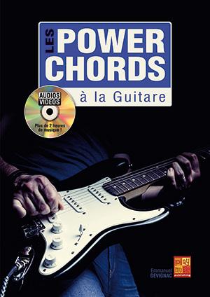 Les power chords à la guitare