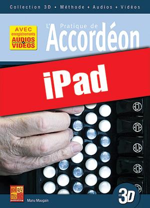 Pratique de l'accordéon en 3D (iPad)