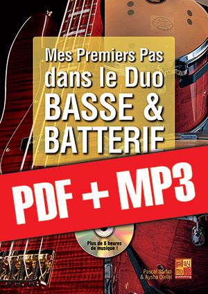 Mes premiers pas dans le duo basse & batterie (pdf + mp3)