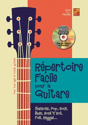 Répertoire facile pour la guitare