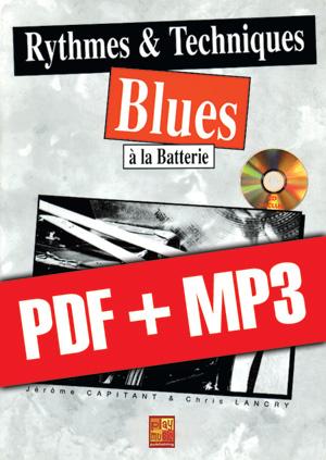 Rythmes & techniques blues à la batterie (pdf + mp3)