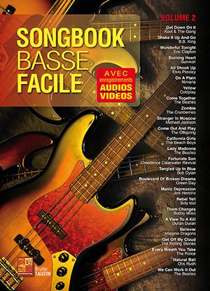 Songbook Basse Facile - Volume 2