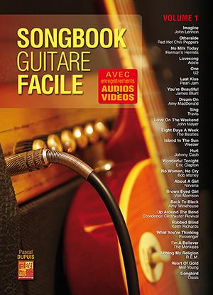 Songbook Guitare Facile - Volume 1
