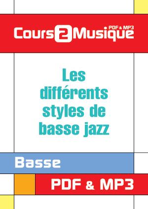 Les différents styles de basse jazz