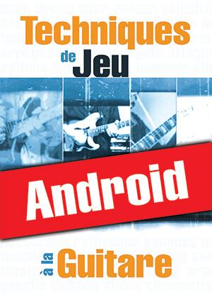 Techniques de jeu à la guitare (Android)