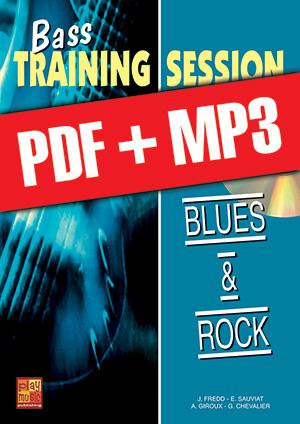 Bass Training Session - Blues & rock (pdf + mp3)