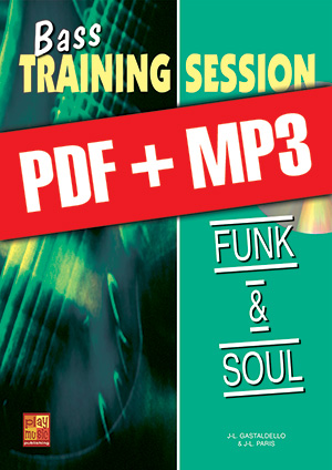 Bass Training Session - Funk & soul (pdf + mp3)