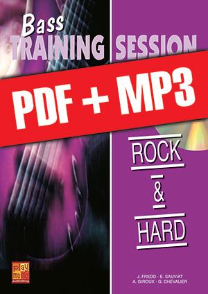 Bass Training Session - Rock & hard (pdf + mp3)
