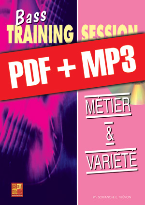 Bass Training Session - Métier & variété (pdf + mp3)