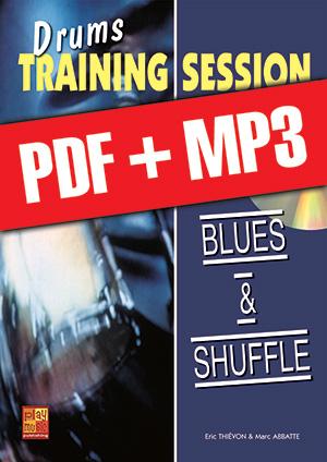 Drums Training Session - Blues & shuffle (pdf + mp3)