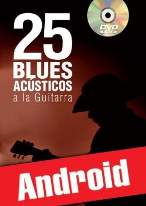 25 blues acústicos a la guitarra (Android)