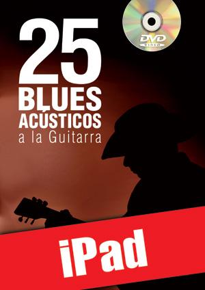 25 blues acústicos a la guitarra (iPad)