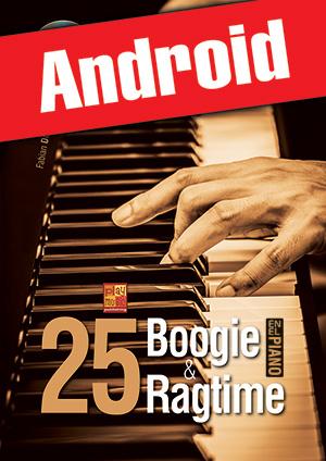 25 boogie & ragtime en el piano (Android)