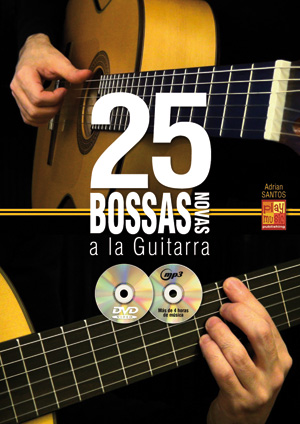 25 bossas novas a la guitarra