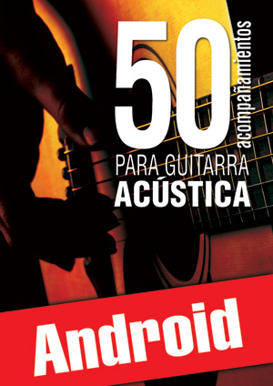 50 acompañamientos para la guitarra acústica (Android)