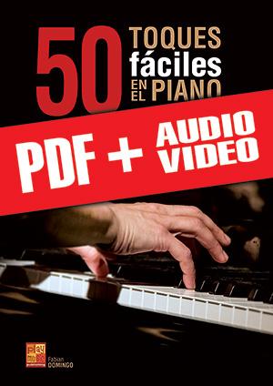 50 toques fáciles en el piano (pdf + mp3 + vídeos)