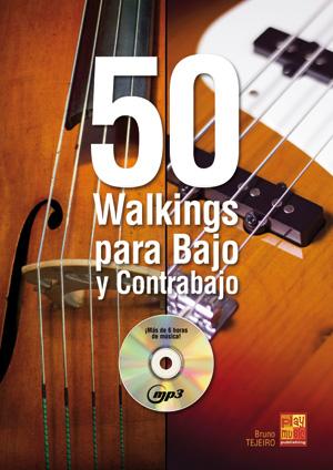 50 walkings para bajo y contrabajo