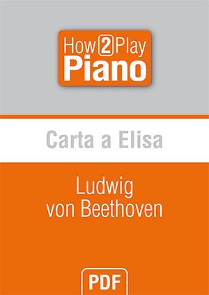 Carta a Elisa - Ludwig von Beethoven