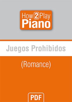 Juegos prohibidos (Romance)