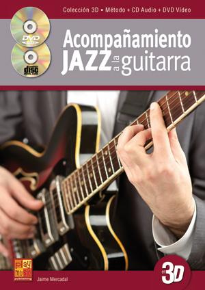 Acompañamiento jazz a la guitarra en 3D