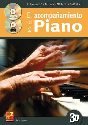 El acompañamiento en el piano en 3D