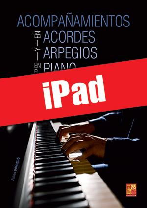 Acompañamientos en acordes y arpegios en el piano (iPad)