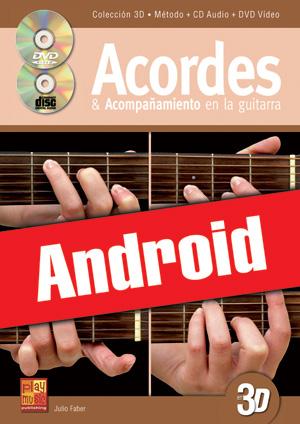 Acordes & acompañamiento en la guitarra en 3D (Android)