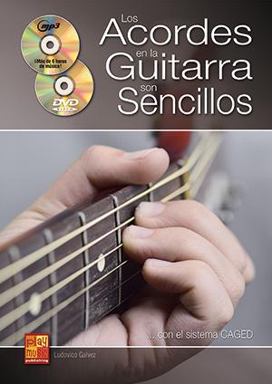 Los acordes en la guitarra son sencillos... con el sistema CAGED