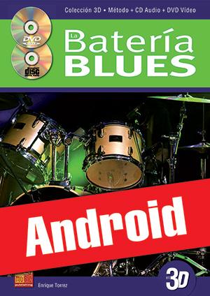 La batería blues en 3D (Android)
