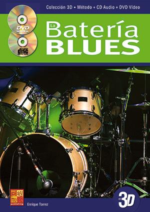 La batería blues en 3D