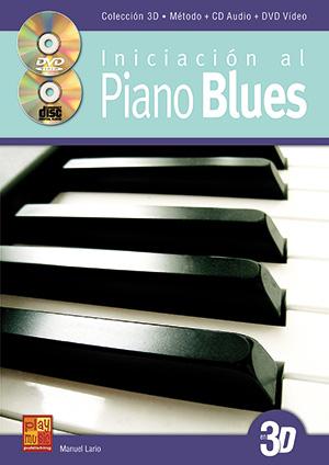 Iniciación al piano blues en 3D
