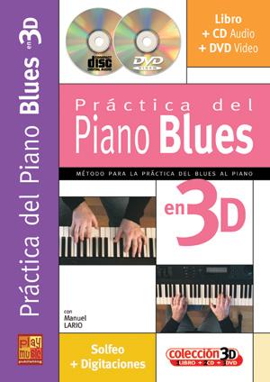Práctica del piano blues en 3D