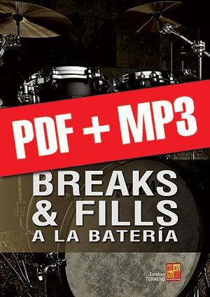 Breaks & fills a la batería (pdf + mp3)