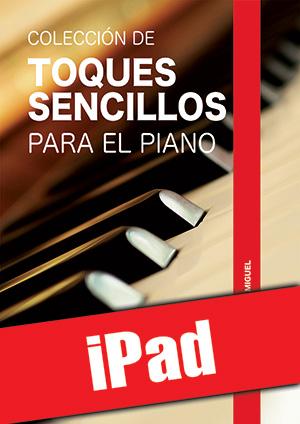 Colección de toques sencillos para el piano (iPad)